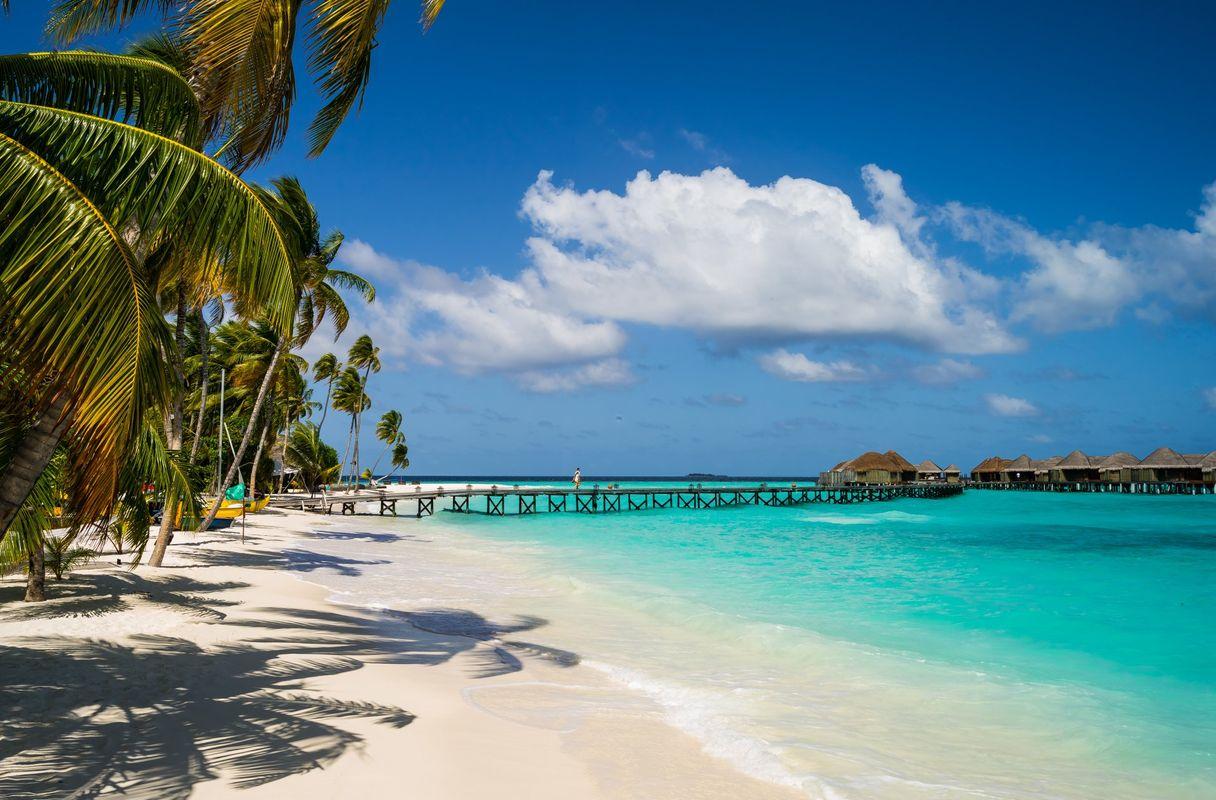Maldivy - Silvester privátnym lietadlom
