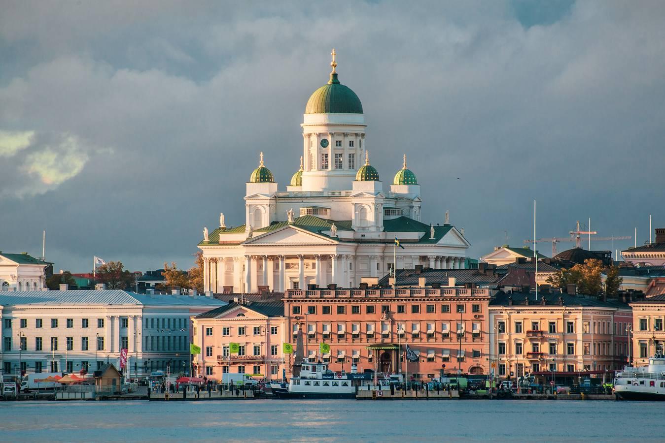 Helsinki – dcéra Baltu