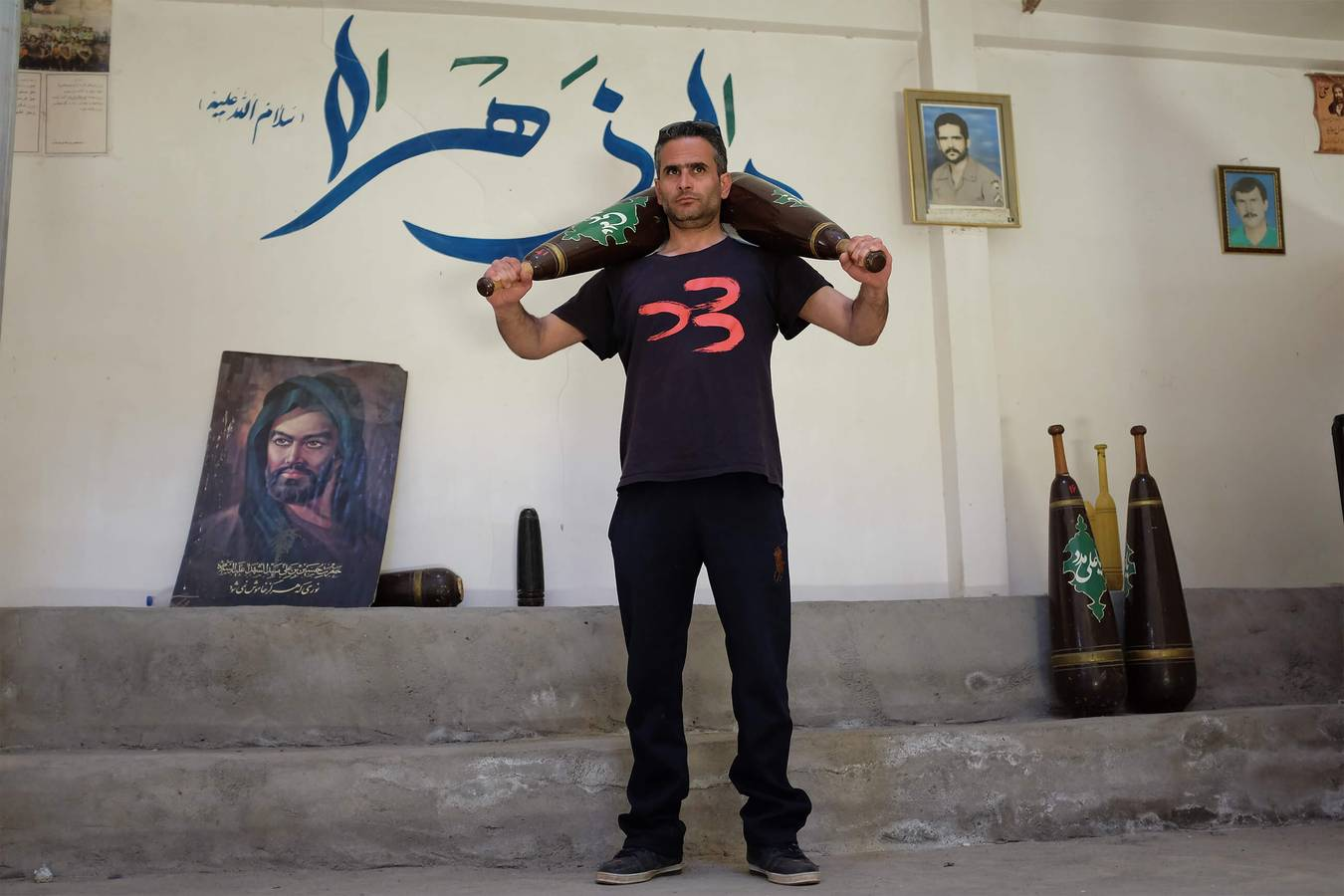 Zoorkhaneh - iránske slovko pre česť, pokoru a silu