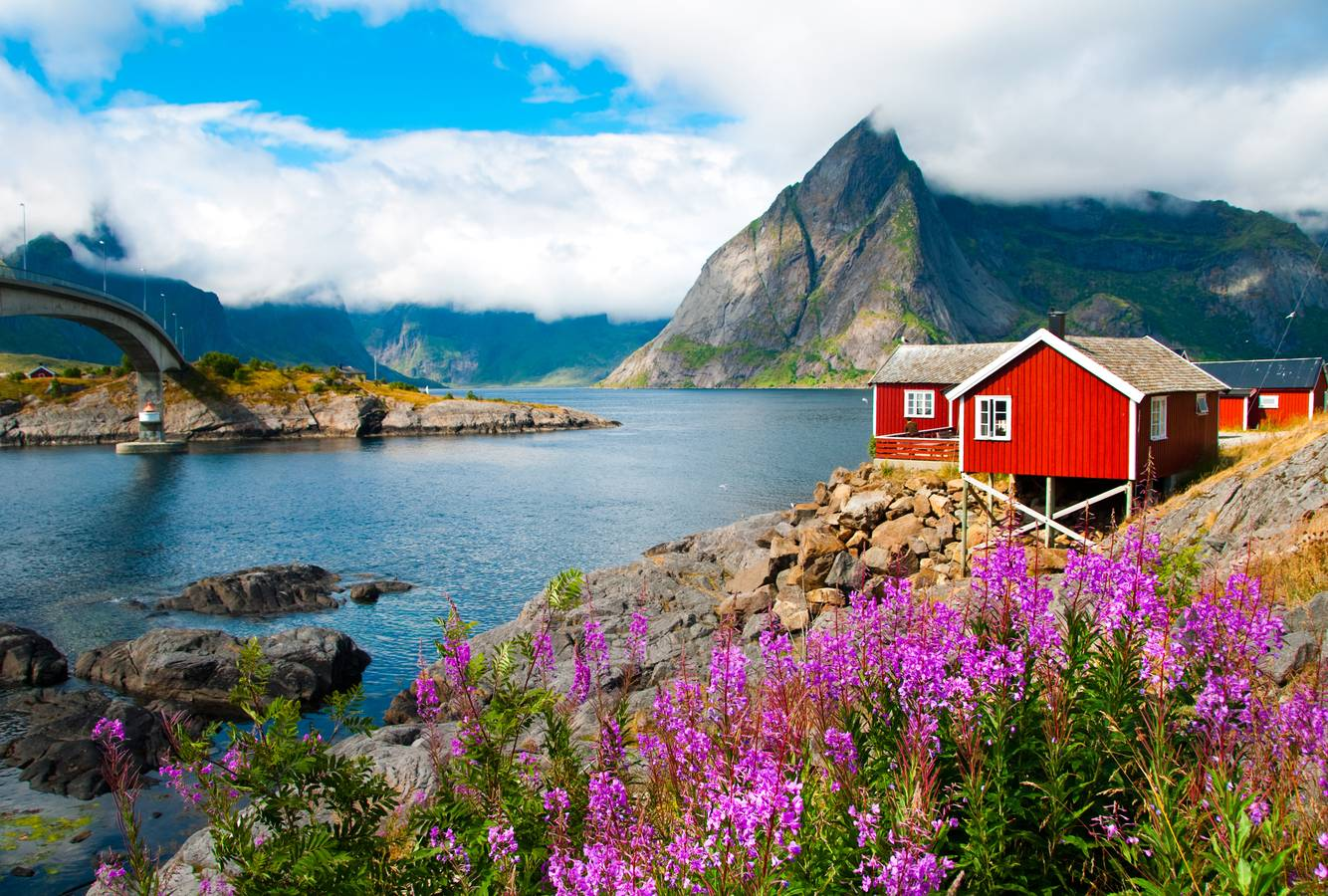 Magický okruh najkrajšími končinami Nórska