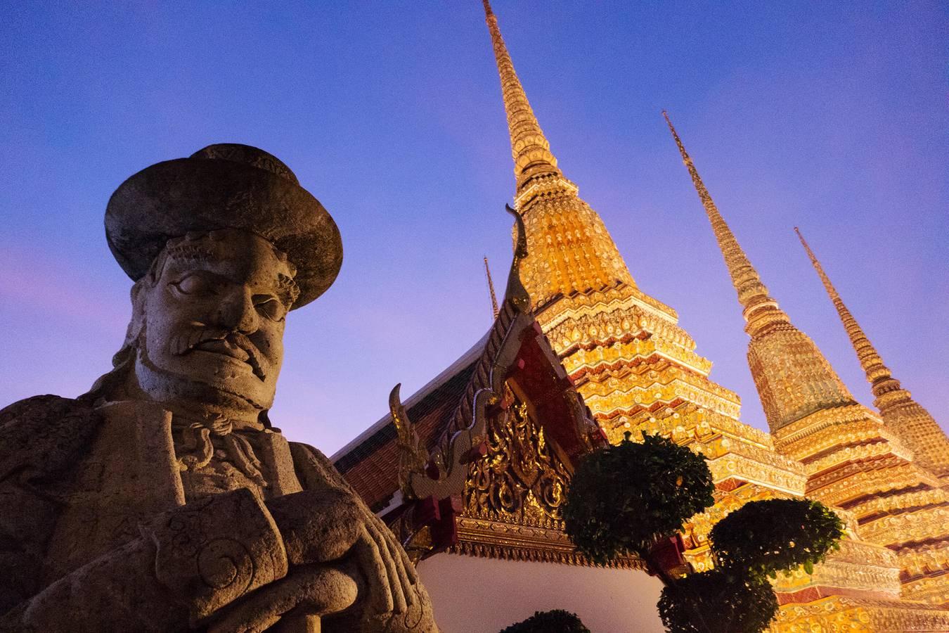 Bangkok - mesto tisícov Budhov a hriechu...