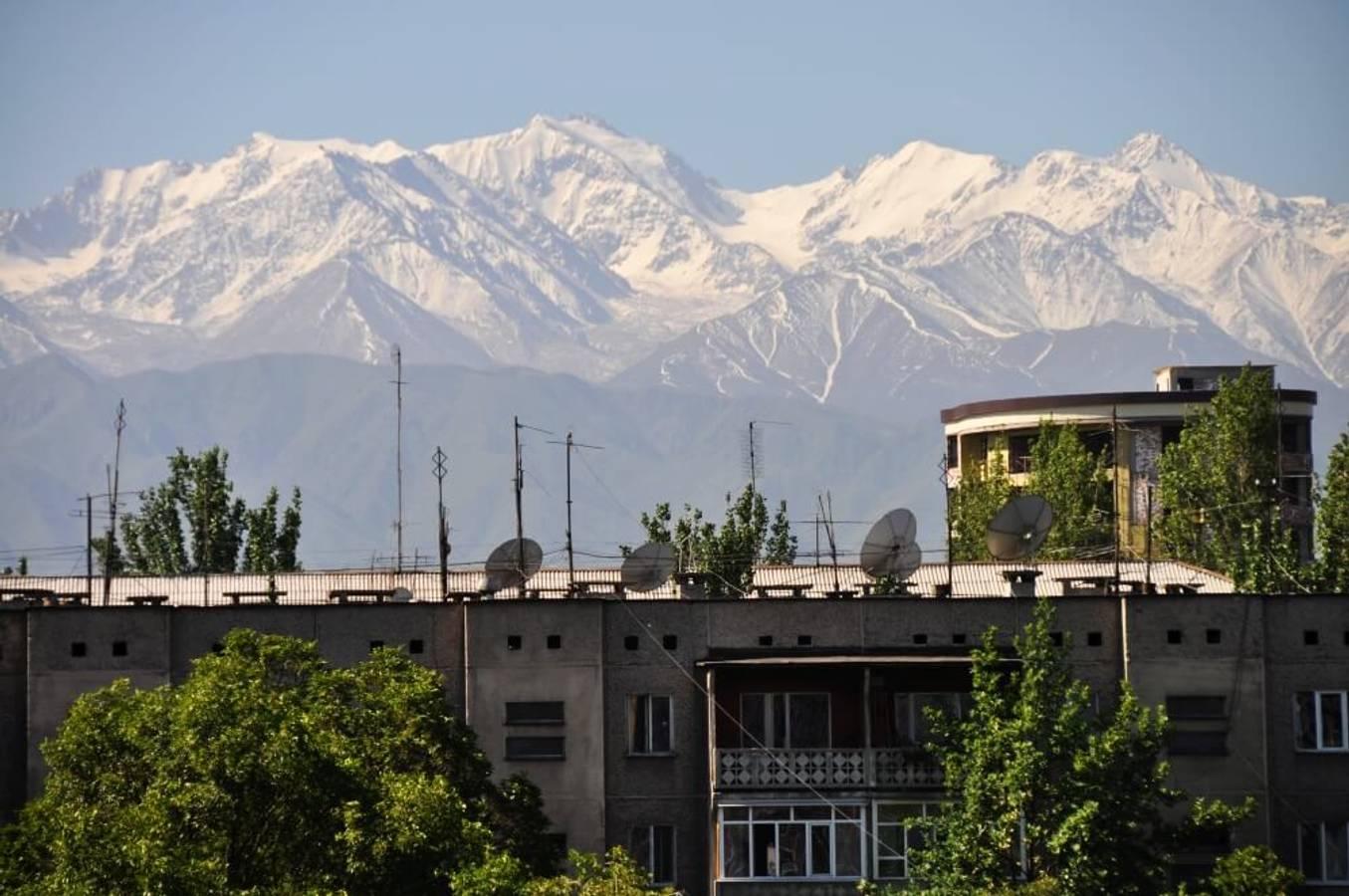 Biškek - kráska pod štítmi Alatau