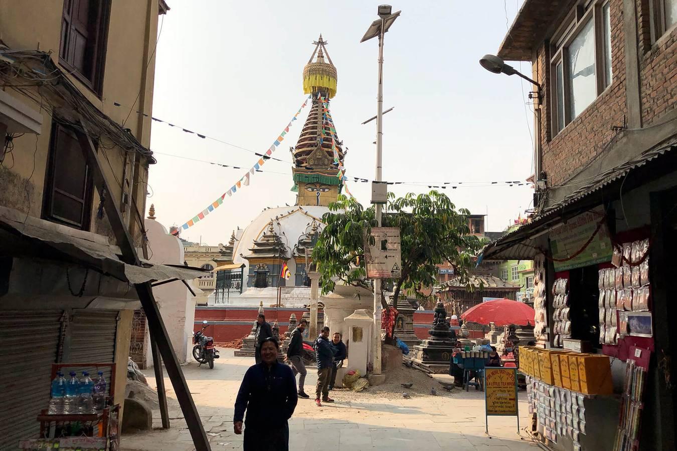 Kathmandú - mesto dvoch náboženstiev