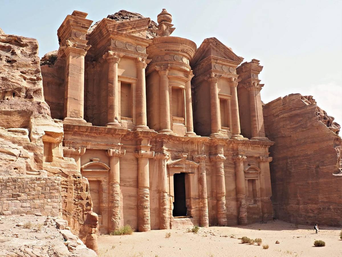 Petra - dejiny vytesané do pieskovca