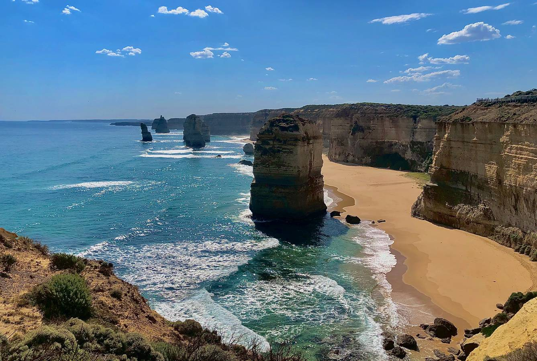 Great Ocean Road, najkrajšia cesta v Austrálii