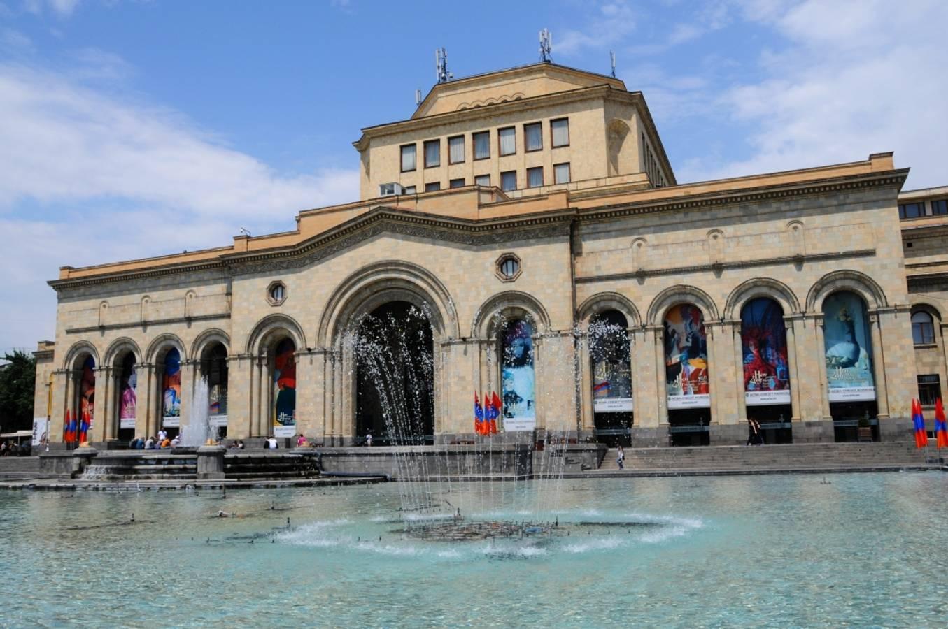 Jerevan - poklad južného Kaukazu