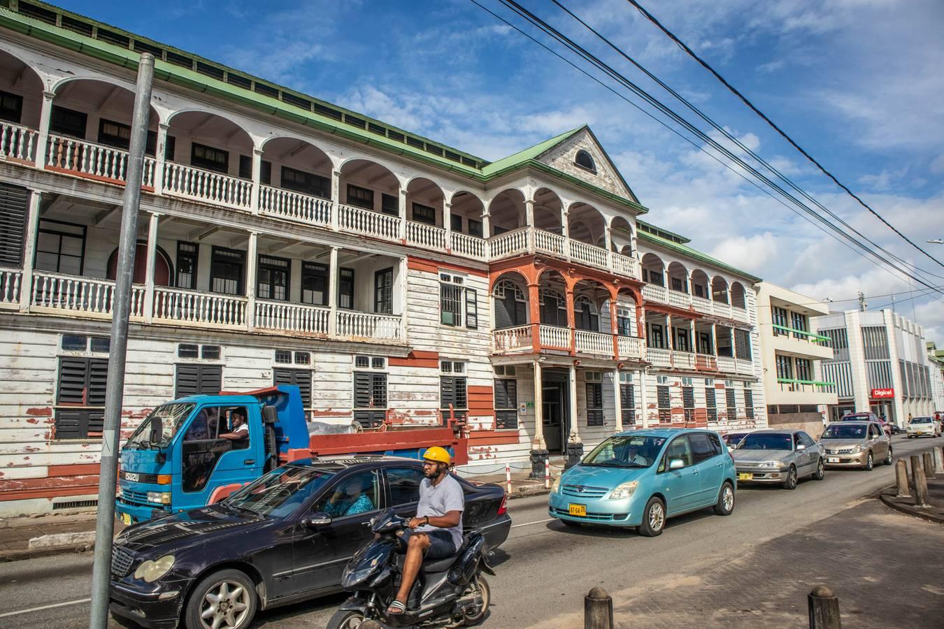 Paramaribo – v hlavnom meste holandskej Guyany