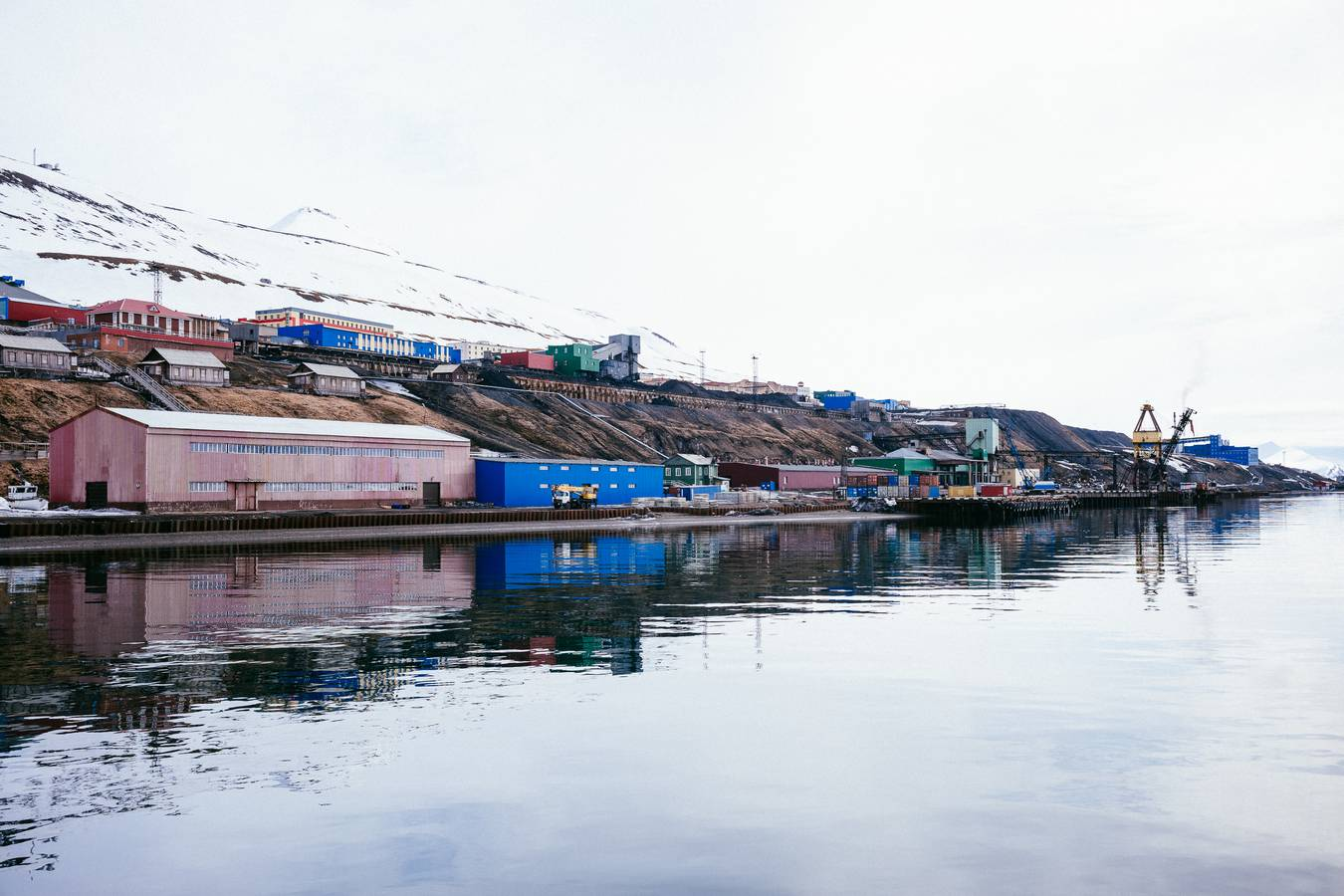 Barentsburg – kúsok Ruska na Špicbergoch