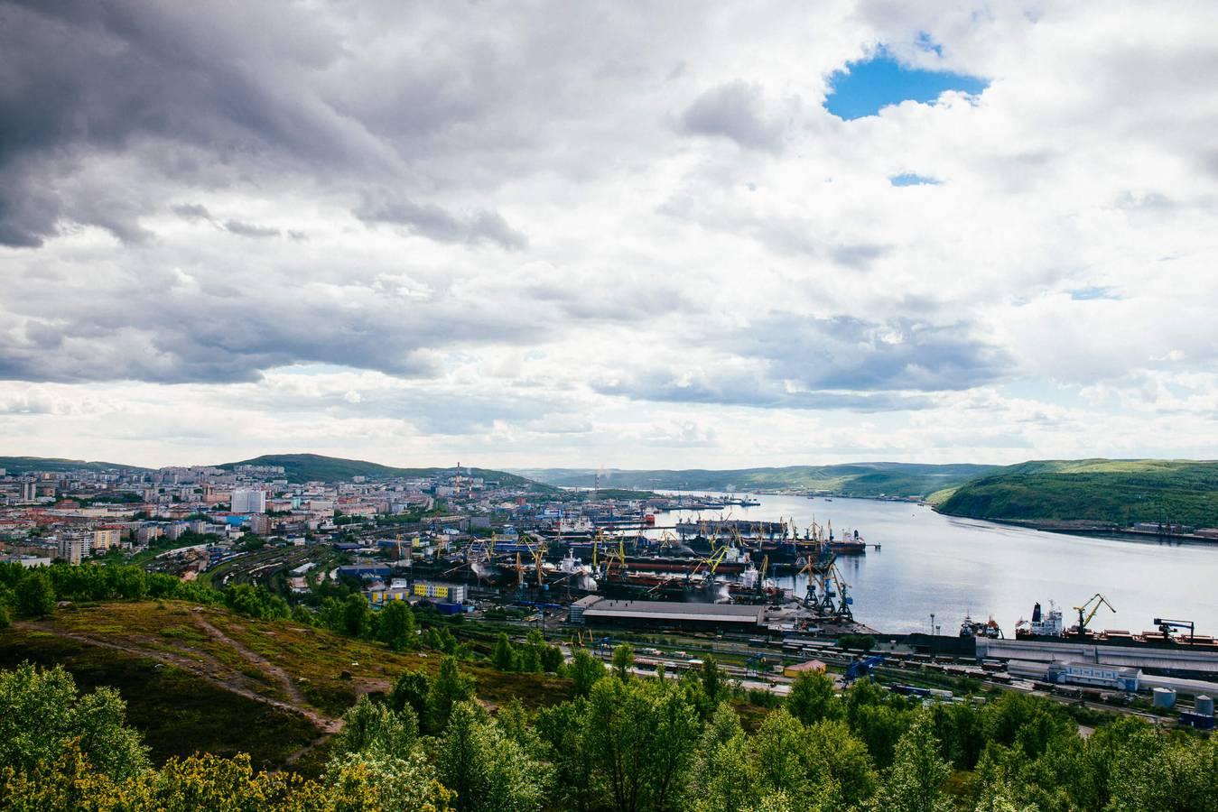 Murmansk - mesto hrdinov a polostrov Kola