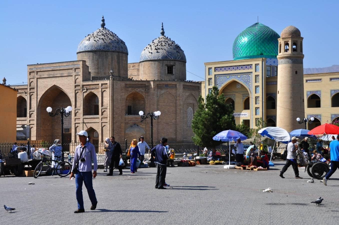 Chudžand - na jeden deň v Tadžikistane
