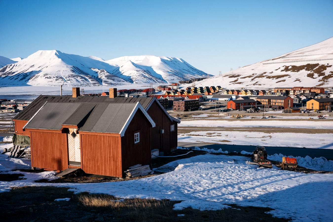 Longyearbyen - hlavné mesto Špicbergov