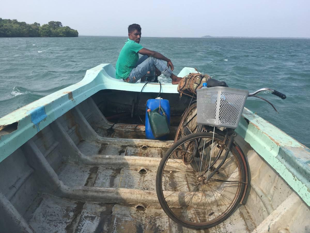 Na bicykli v bohom zabudnutých kútoch Srí Lanky