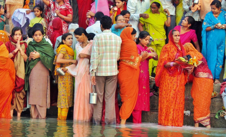 Táňa Pauhofová v Indii