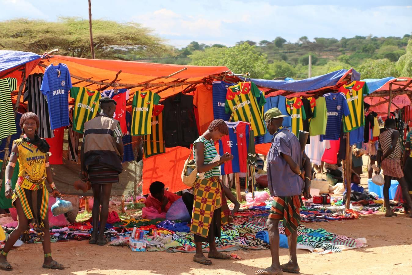 Koľko stojí futbalová lopta v Etiópii?