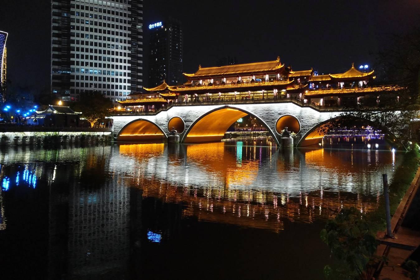 Chengdu - Brokátové mesto