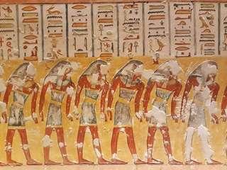 Údolie kráľov, Luxor