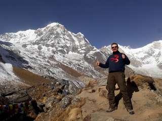 Vrtuľníkom k Annapurne