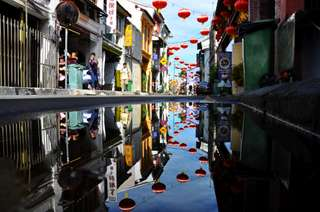 Streetart v Penangu