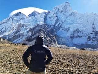 Kallapatar - vyhliadka na Himaláje
