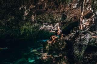 Jaskyne Cenotes na Yucatane