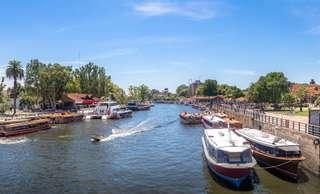 Delta rieky Parana