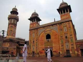 Wazir Khanova mešita - pamiatky Pakistanu