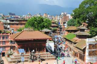 Durbar v Káthmandú