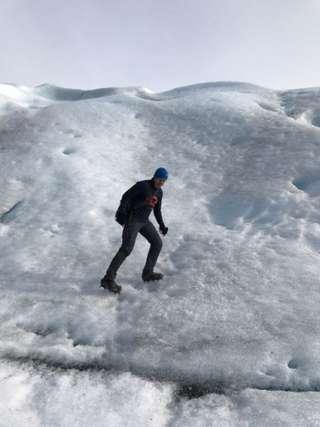 Najkrajší ľadovec Patagónie