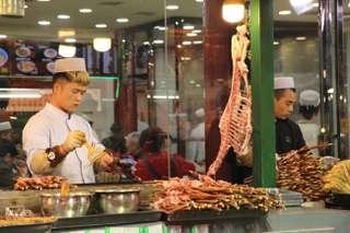 Moslimská štrť v Xi-Ane