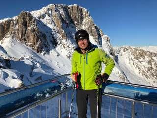 Na lyžovačke v Rakúsku