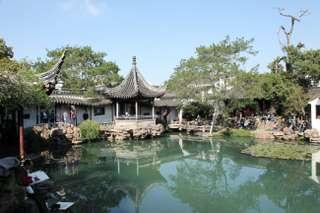 Záhrady v Suzhou