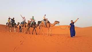 S deťmi do Maroka