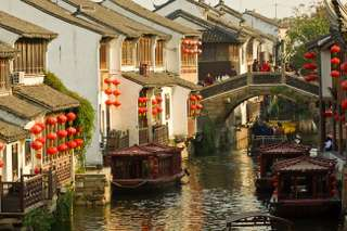 Hangzhou a Suzhou