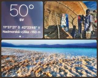 Najnižšie miesto Afriky - Lake Assal