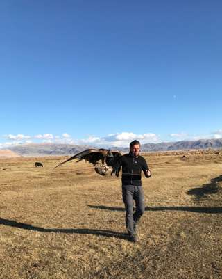 Orlí lovci v Mongolsku