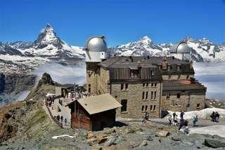Gornergrat - najkrajšia vyhliadka v Alpách