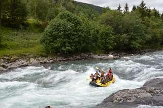 Raft na rieke Sjoa