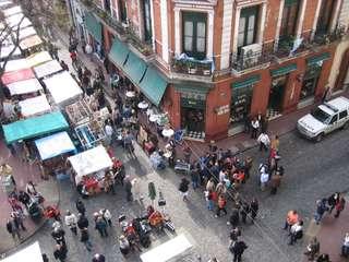 Trh v San Telmo, nedeľa