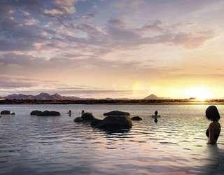 Nebeská lagúna na Islande