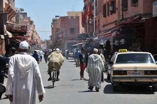 Autopožičovňa v Maroku