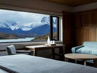 El Chaltén - luxusná lodge v Patagónii