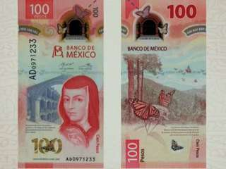 Bankovka roka 2020 - 100 mexických pesos