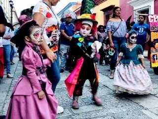 Dušičky v Mexiku
