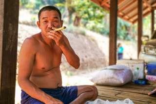 Kareni - trek v severnom Thajsku