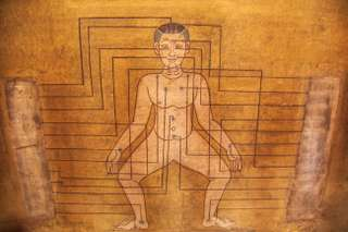 Thajská masáž vo Wat Pho