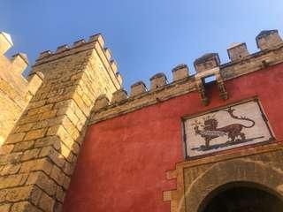 Alcázar v Seville a Hra o tróny