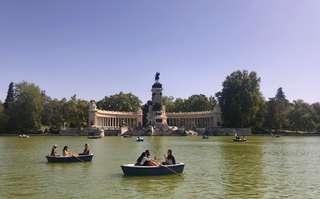 Retiro - najznámejší park v Madride