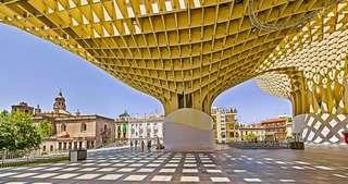 Las Setas de Sevilla - obrie huby v strede mesta