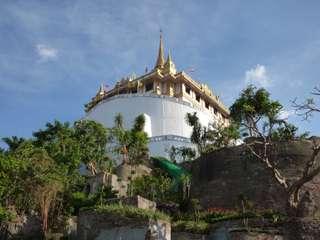 Bangkokský chrám Wat Saket