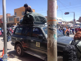 Chile Peru Bolívia - smer Salar